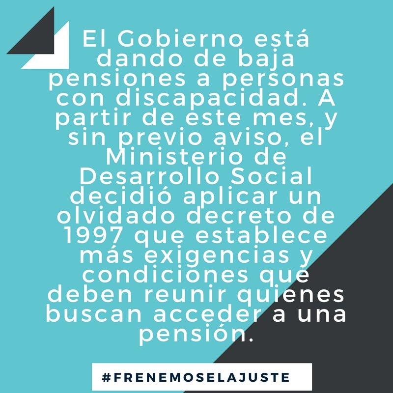 Desde junio, el Gobierno empezó a dar de baja pensiones por discapacidad https://t.co/47hcJKoF9X https://t.co/mnycFp54tc