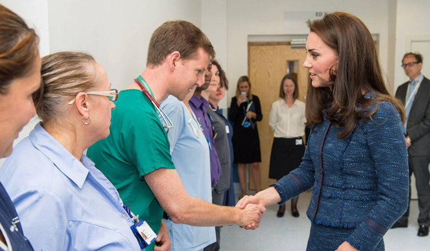 Kate Middleton made a surprise hospital visit to the victims of the London Bridge attack: