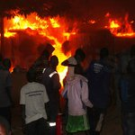 Mysterious fire razes hotel store in Moroto
