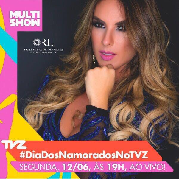 RT @NicoleBahls: Hoje #DiaDosNamoradosNoTVZ às 19h no @multishow https://t.co/TWDcGVhWHw