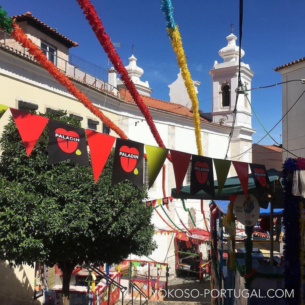 test ツイッターメディア - 本日は聖アントニオ祭りの前夜祭、リスボンが1番熱くなる日です。お出かけの際はスリなどに十分お気をつけ下さい。 #リスボン #ポルトガル https://t.co/GI4u1KHjfT