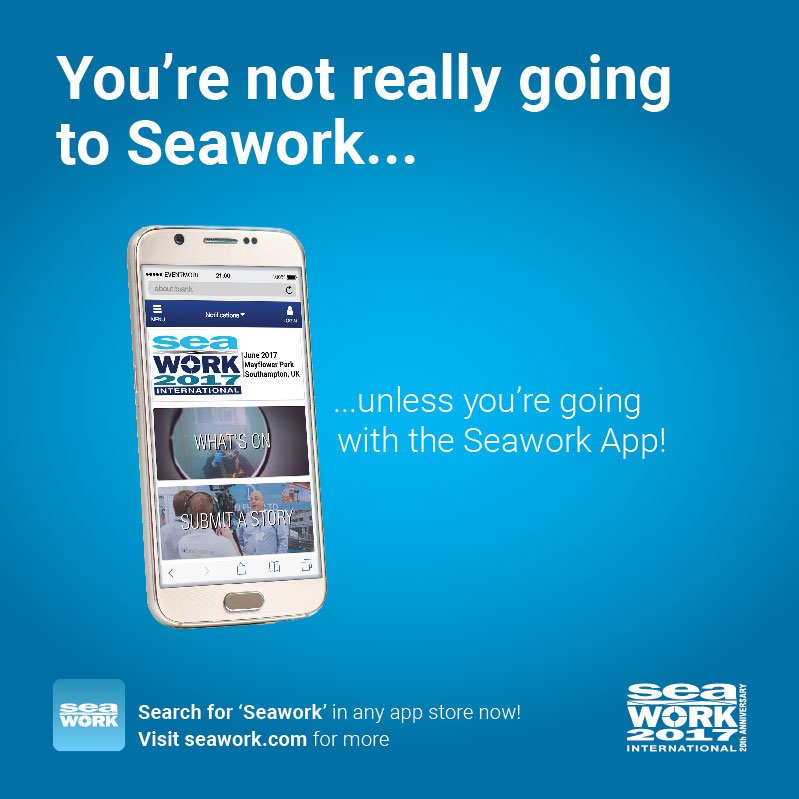 test Twitter Media - #Seawork opens its doors tomorrow! Make sure you download the #SeaworkApp before you visit... https://t.co/dqwGL0XEM8 https://t.co/KTDk90l864