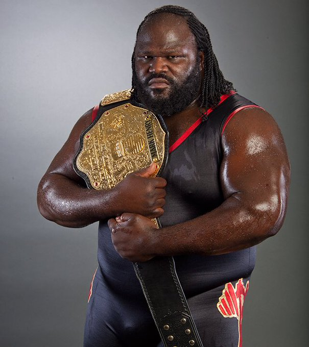 "Hoy cumple 46 años el gran luchador Mark Henry \""The World\s Strongest Man\"" Happy Birthday"