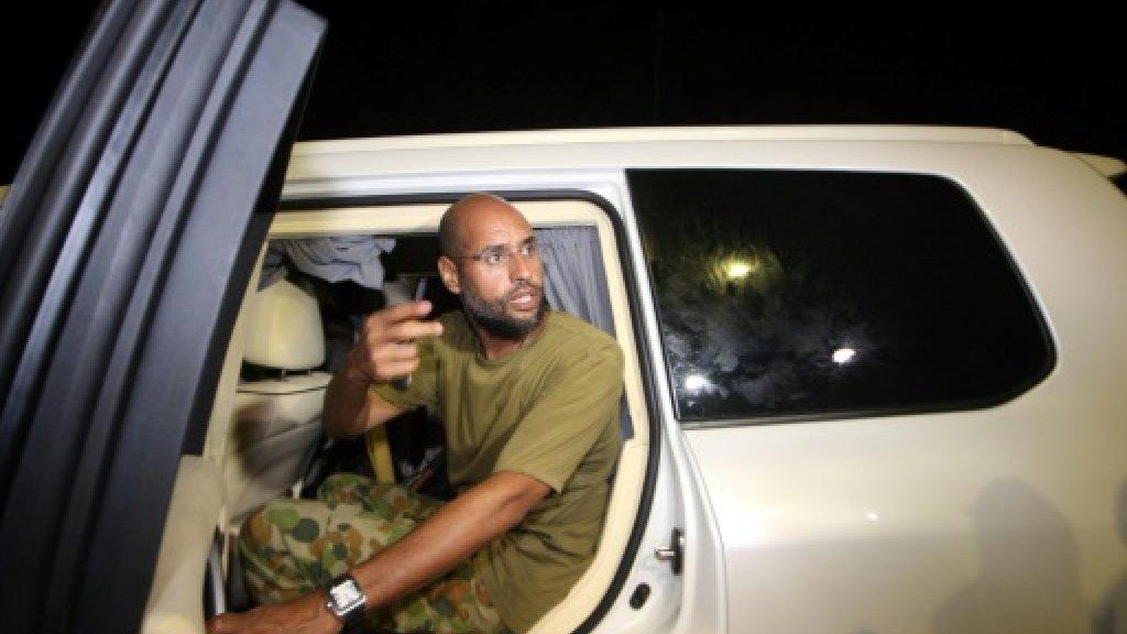 'Freed' Kadhafi son still wanted by Libya court: prosecutor
