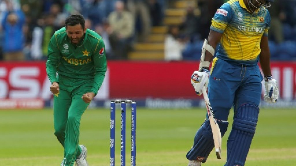 Sri Lanka 236 all out against Pakistan in Champions Trophy