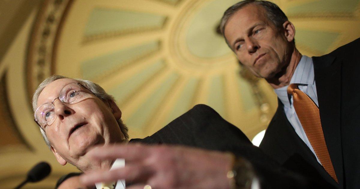 Senate Republicans draft Obamacare repeal bill behind closed doors
