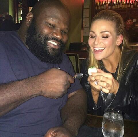 Natalya Wishes Mark Henry A Happy Birthday.