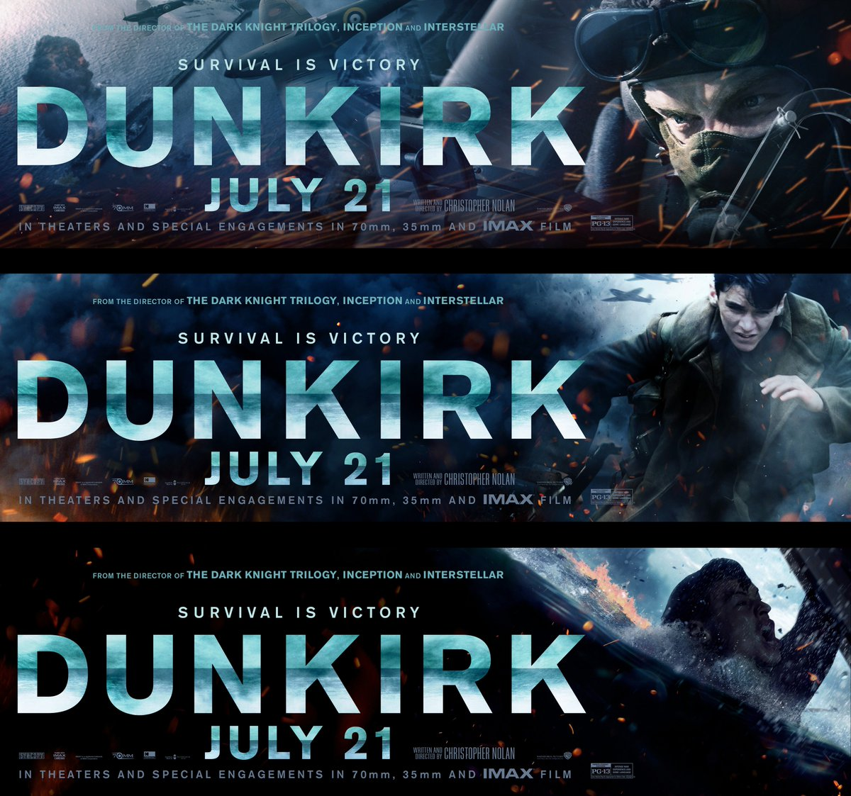 test Twitter Media - RT @dunkirkmovie: Survival is victory. Go to https://t.co/ipMiWw15vV for exclusive #Dunkirk content. https://t.co/QGUOW4vZWs