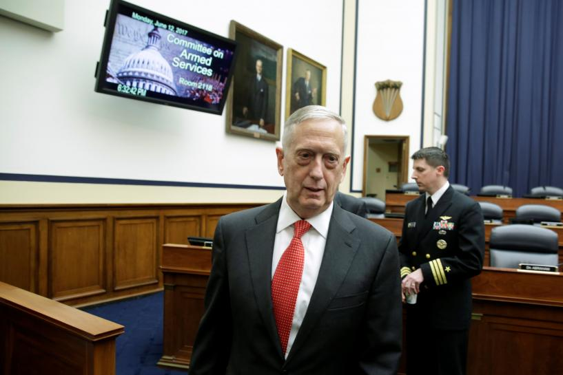 Mattis says options on Afghanistan to be presented to Trump 'very soon'