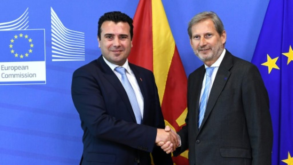 Macedonia seeks end to name dispute blocking NATO, EU bids