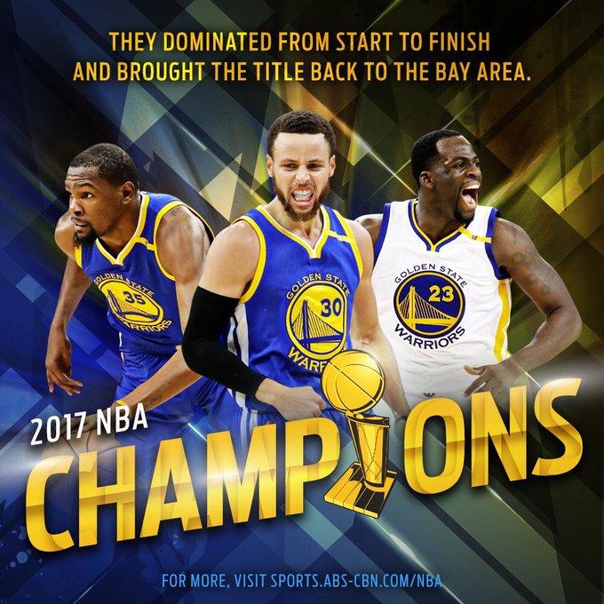 #NBAFinals2017