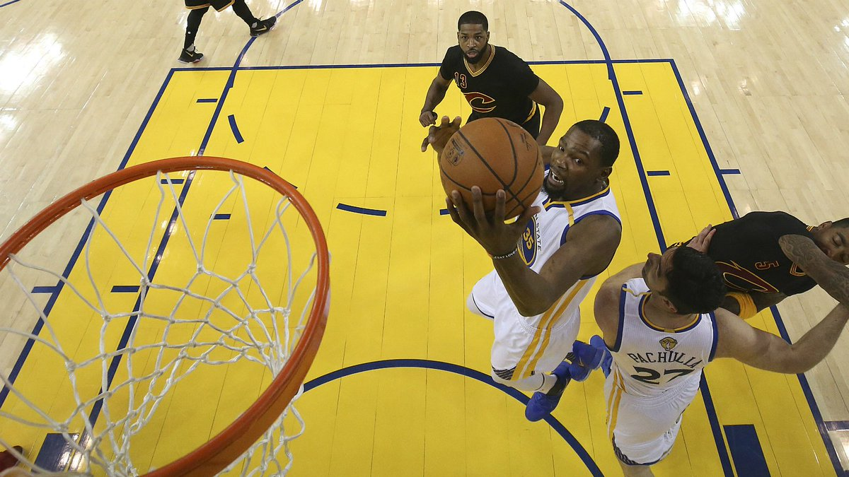 Warriors beat Cavaliers in five games to win NBA Finals