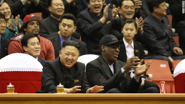 "Former NBA star Dennis Rodman hopes to do ""something that's pretty positive"" in North Korea"