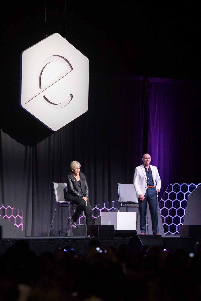 """We never took no for an answer until no became yes, "" @eMergeAmericas @SuzeOrmanShow #EA17 https://t.co/qtkacSQmBC"