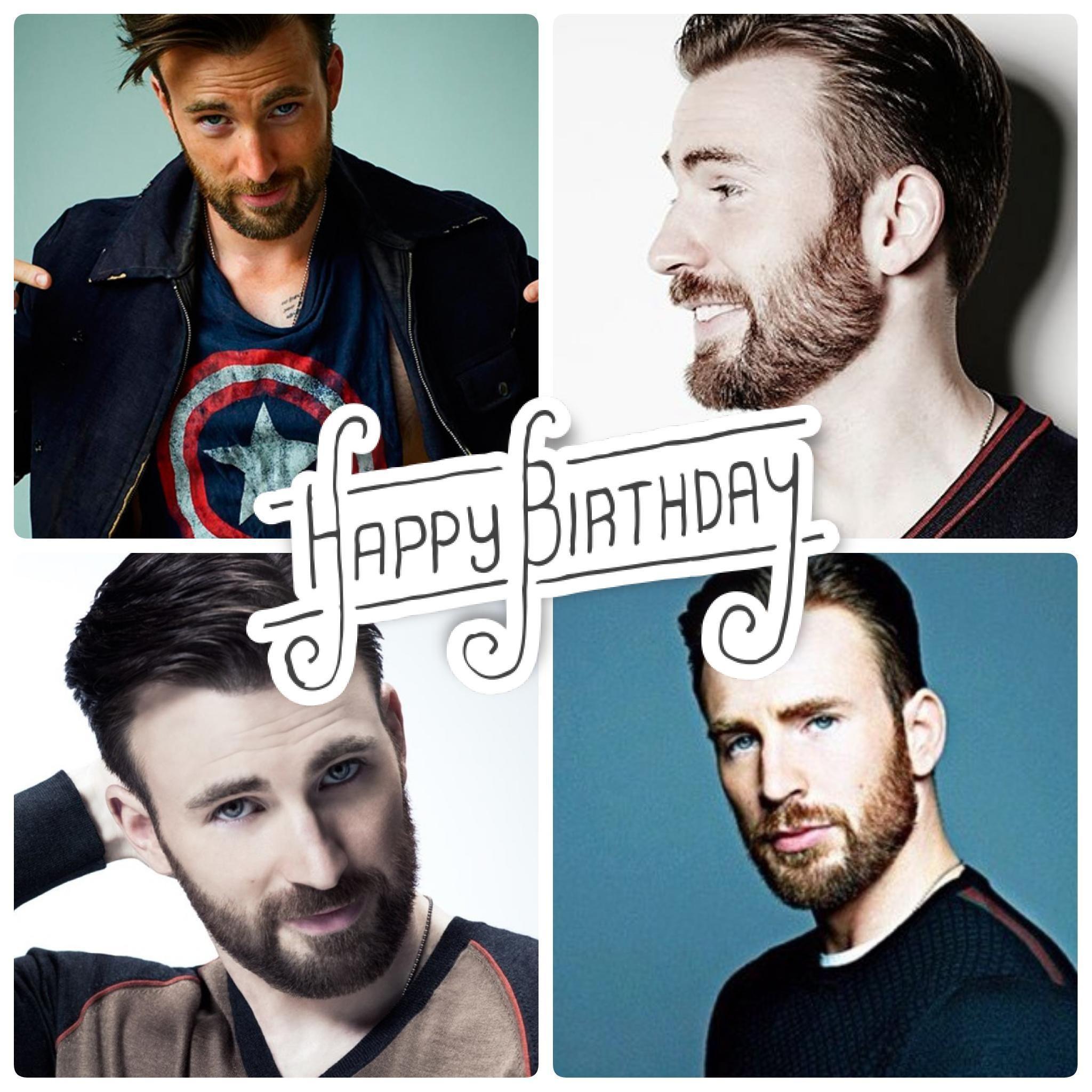 Happy Birthday to the amazing, Chris Evans! Help us celebrate Captain America today :)