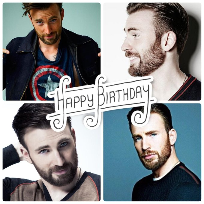 Happy Birthday to the amazing, Chris Evans! Help us celebrate Captain America today :)