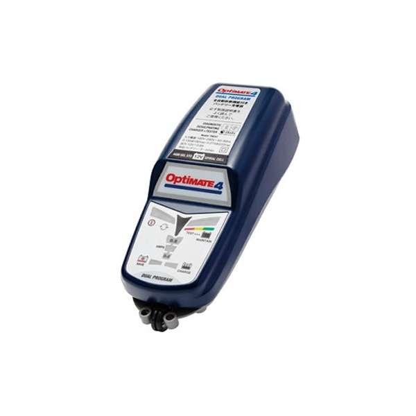 【おすすめバイク用品】定番のバッテリー充電器をお取り扱い開始!テックメイト「オプティメート4」 バッテリーは夏からしっか