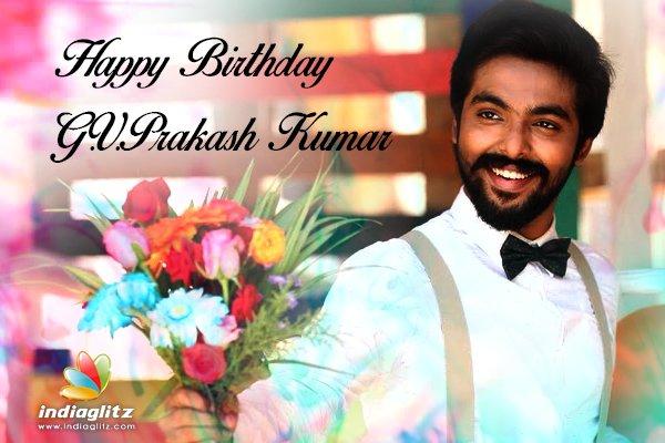 Happy Birthday G.V.Prakash Kumar