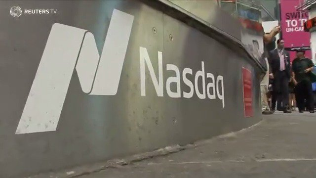 Nasdaq sees largest 2 day selloff in nearly a year: via @Reuters TV