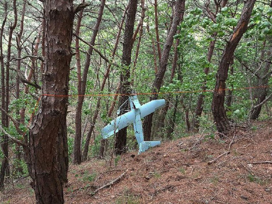 Suspected North Korean drone crashes after photographing U.S. missile defence system