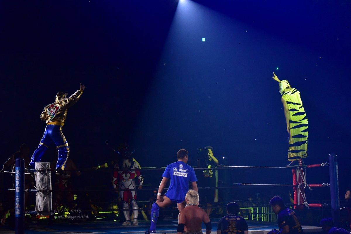 2017.6.11 大阪城ホール#njpw #njdominion タイガーマスクW選手