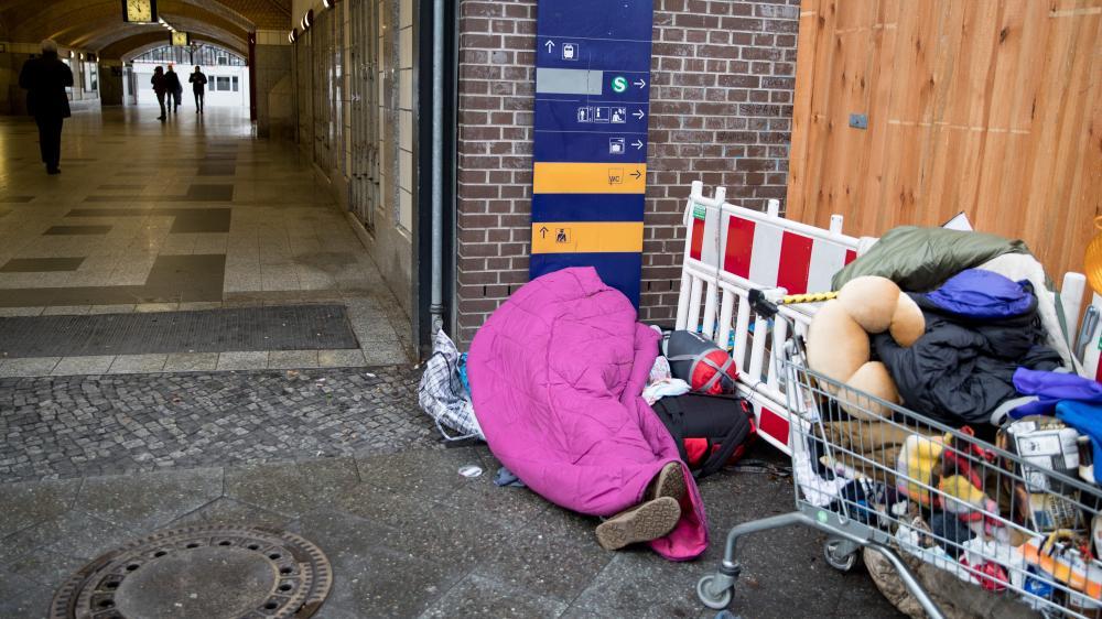 Obdachlosen