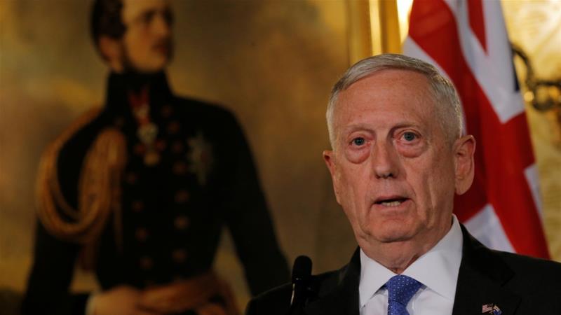 "US Secretary of Defence James Mattis says Qatar blockade a ""very complex situation"""