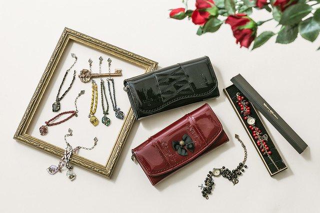 真紅や水銀燈をイメージ、「ローゼンメイデン」腕時計・財布・ブレスレットが登場