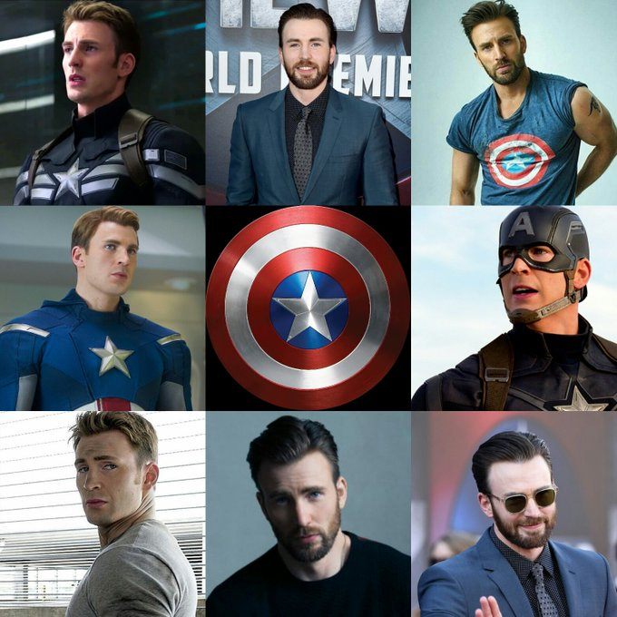 Happy birthday Chris Evans! Turns 36 today