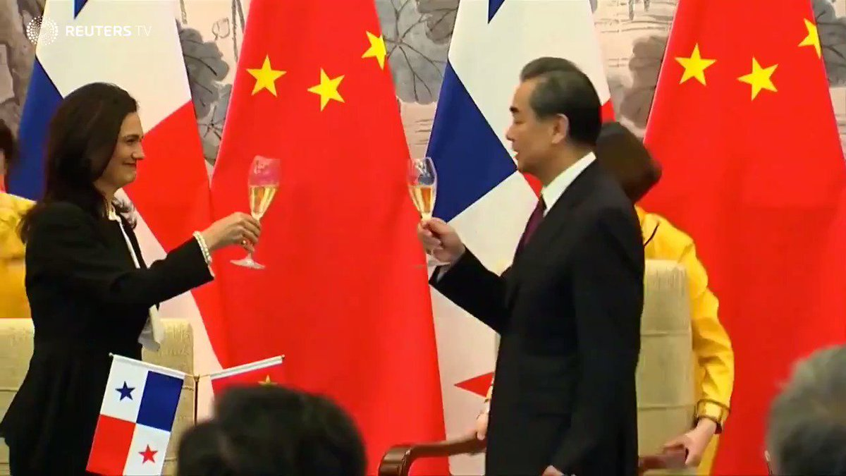Panama establishes ties with China, ditches Taiwan in win for Beijing: via @ReutersTV
