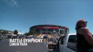 Our special slo-mo look at Game 5 of the #NBAFinals set to @LinkinPark's 'Battle Symphony' https://t.co/3DQ2quPENn