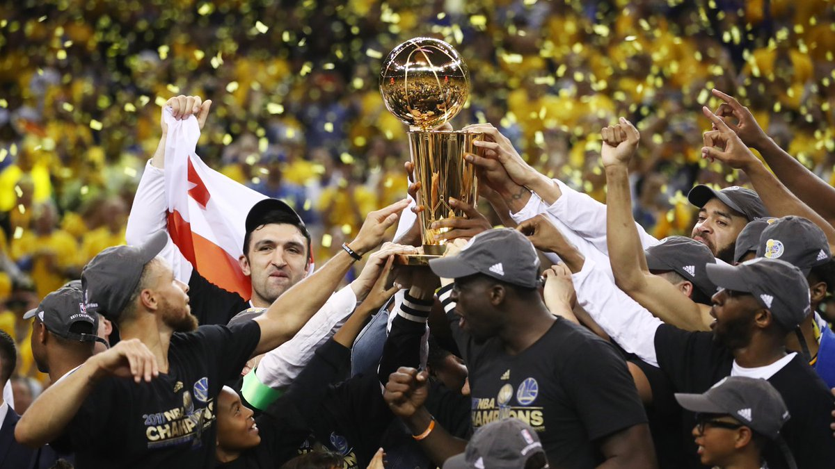 Warriors beat Cavaliers in Game 5 to win NBA championship From @Globe_Sports