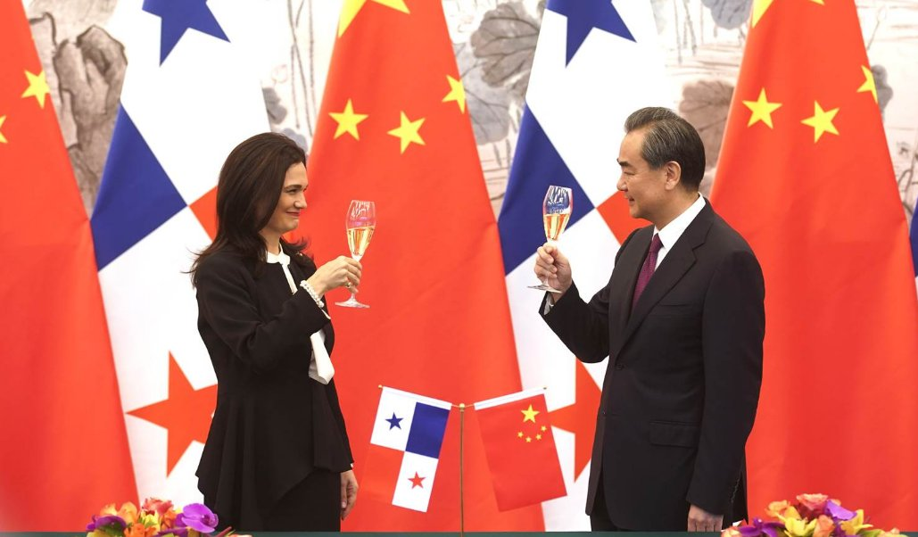 Panama has ended diplomatic ties with Taiwan- and teamed up with China