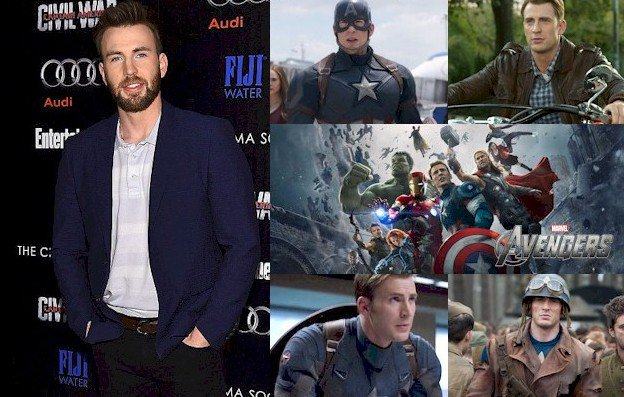 Hoy cumple 36 años Chris Evans (Steve Rogers / Captain America en  Happy Birthday