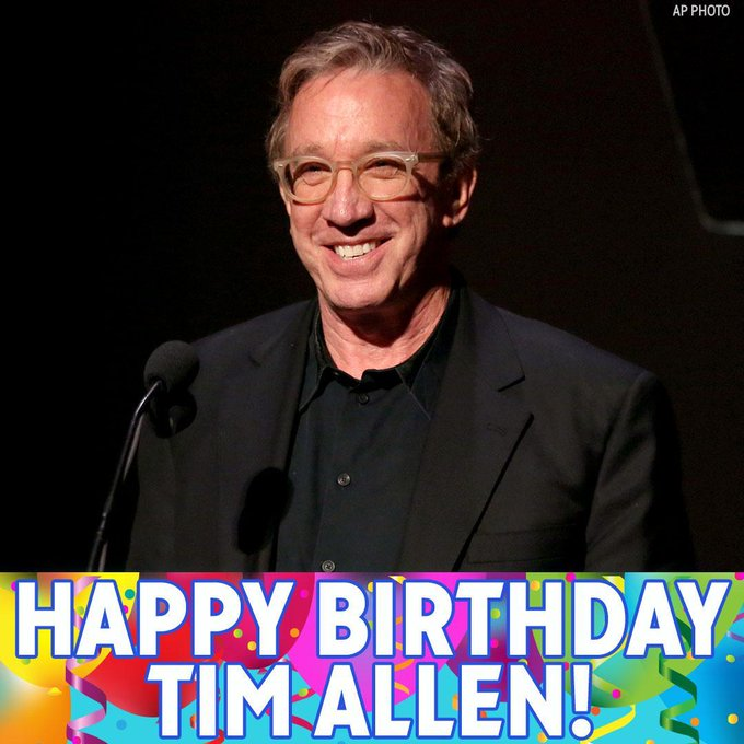 Happy Birthday, Tim Allen!