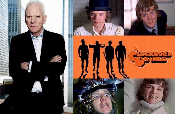 Hoy cumple 74 años Malcolm McDowell (Alex DeLarge en Happy Birthday