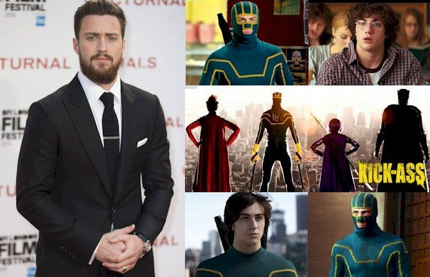 Hoy cumple 27 años Aaron Taylor-Johnson (Dave Lizewski / Kick-Ass en Happy Birthday