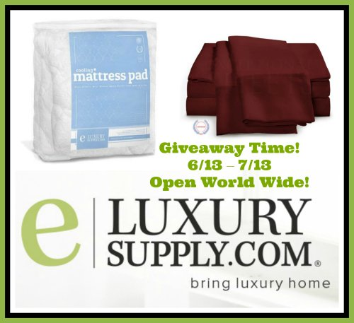 Summer Cool Down eLuxury Supply Bedding Giveaway