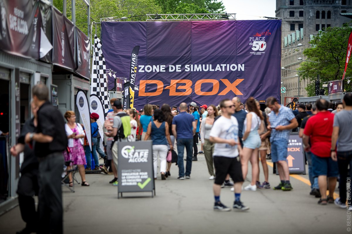 test Twitter Media - Quel week end incroyable pour D-BOX, plus de 10 000 personnes sont venues vivre une expérience de divertissement incomparable lors de la F1! https://t.co/DP3siL4MVY