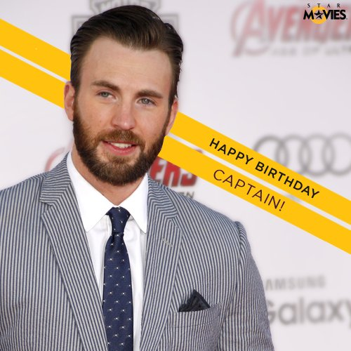 Here s wishing the extremely charming and immensely talented actor, Chris Evans a happy 36th birthday!