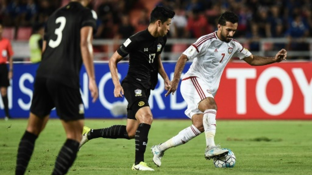 UAE score last-gasp equaliser in Thai World Cup qualifier