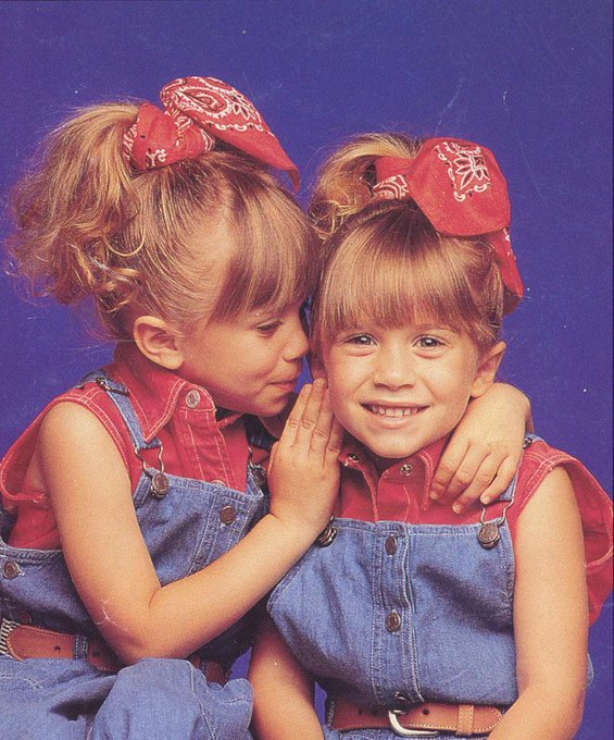 Happy Birthday to Mary Kate and Ashley Olsen!