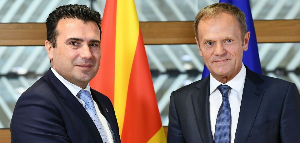 Macedonia's new leader aims to join the EU and NATO, to Serbia and Russia's chagrin.