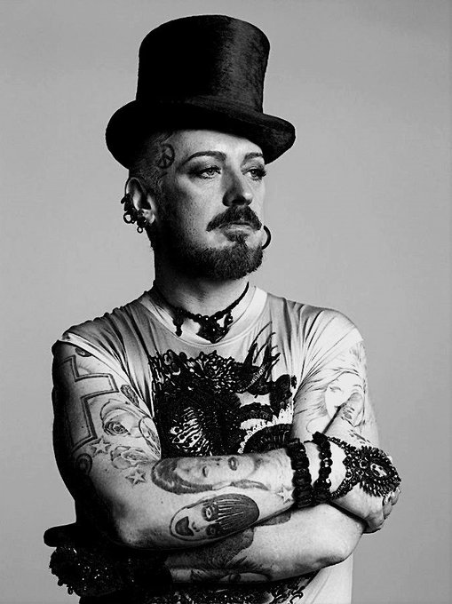 Wishing you healthy and wealthy living Happy Birthday Boy George