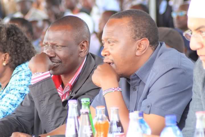 Image result for Ruto with Uhuru Kenyatta campaigns