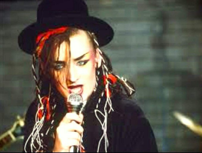 Happy birthday Boy George who turns 56 today!