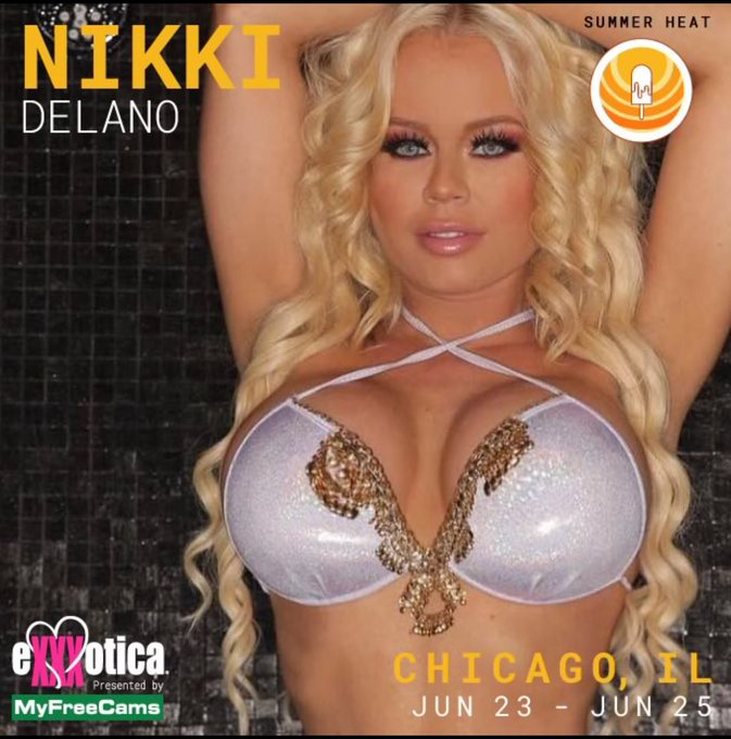 Next week meet me live in Chicago at @EXXXOTICA at the @Ce_Talent booth https://t.co/Yj1tssQ1rE