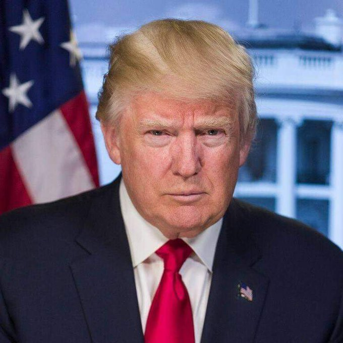 Happy birthday first president Donald Trump