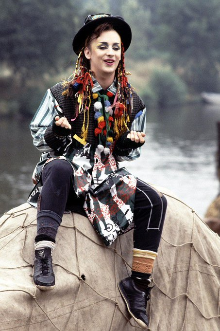 Happy Birthday to Boy George who turns 56 today!