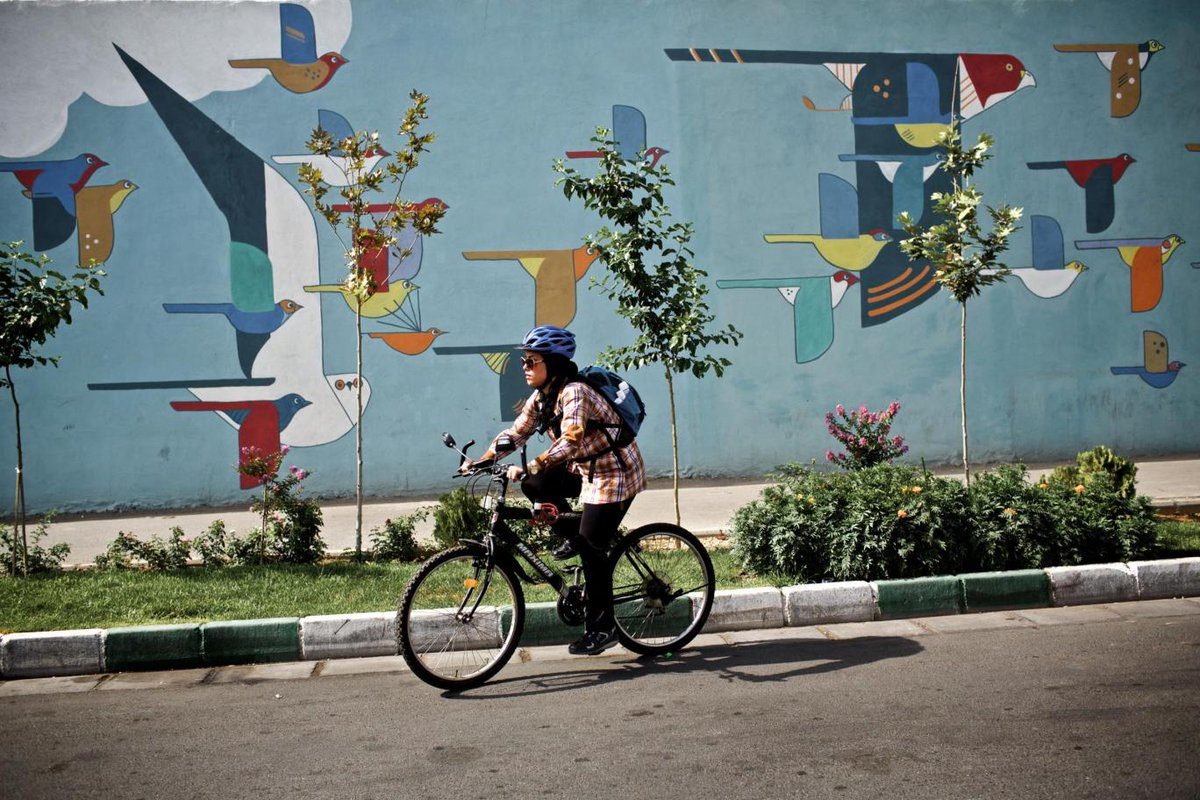 test Twitter Media - Here's how more Iranian women are responding to fatwa against their riding bicycles. https://t.co/Le8KBb54Sh https://t.co/4W3CZfeHB0